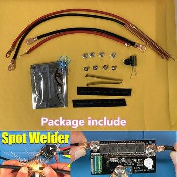 12V Spot Welder DIY Portable Battery Storage Spot Welding Machine PCB Circuit Board Welding Equipment for 18650 26650 32650 12V