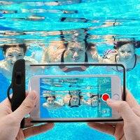 Funda Universal impermeable para iPhone, carcasa a prueba de agua, 11 X XS MAX 8 7 6 s 5 Plus