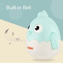 Baby Rasseln Mobile Puppe Glocke Blink Augen Küken Nickte Huhn Roly-poly Baby Beißring Spielzeug Neugeborene Geschenke Geburt Baby 0-12 monate