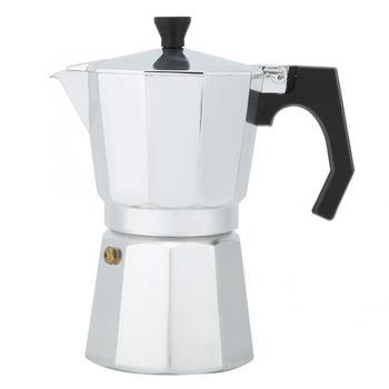 Ekspres do kawy moka 6 filiżanek aluminiowy zestaw do mokki ośmiokątny ekspres do kawy ekspres do domu do Espresso ekspres do kawy przenośny ekspres do kawy tanie i dobre opinie VGEBY 4-6 filiżanek Octagonal Cafe american Pod ekspres do kawy Aluminium Coffee Maker