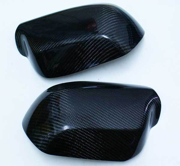 REAL CARBON FIBER MIRROR COVER For MAZDA 3 4D 5D  T044M 3