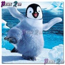 Diy животное Алмазная картина вышивка Антарктический океан Пингвины