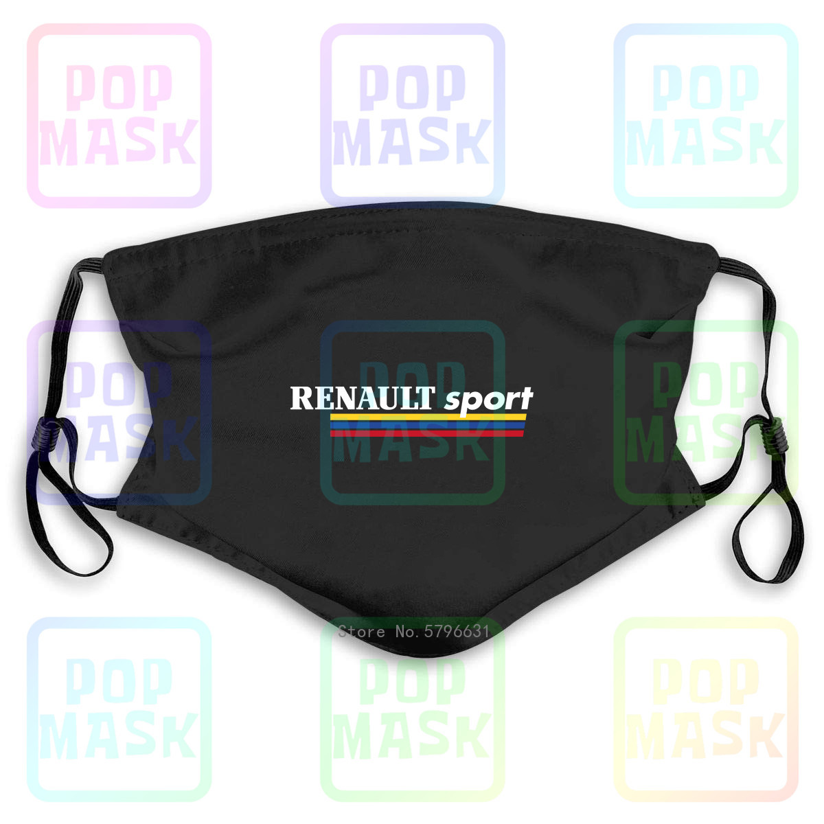 Anti Pollution Mask Renault Sport Megane Clio Rs Replaceable Filter Anti-PM2.5