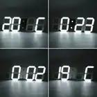 1,5 ''портативный многофункциональный письменный стол будильник цифровой светодиодный настольные часы таймер для конференц зала - 4