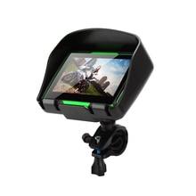 4,3 дюймов 256 МБ+ 8 г сенсорный экран мотоцикл gps наружное портативное навигационное устройство водонепроницаемый ударопрочный пылезащитный gps навигатор