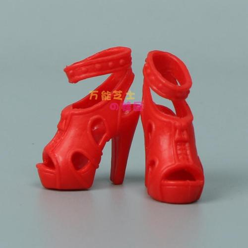 1/6 Doll Accessories Fashion Sneaker Flat Shoes Genuine Sandals Shoeshigh-heeled shoes for Barbie Doll Shoes 19
