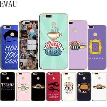 EWAU Central Perk Coffee friends tv show Silicone phone case for