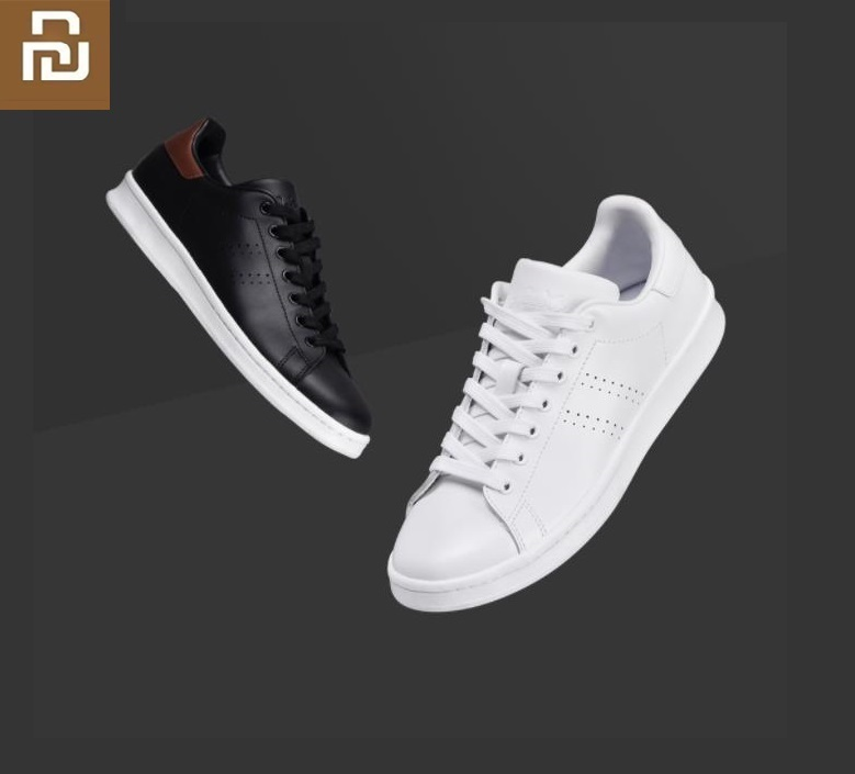 Youpin FREETIE City Classic Shoes First Layer Cowhide Trend Breathable Flat Casual Non-slip Sports Shoes For Men Women Sneakers