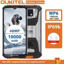 Oukitel-Teléfono inteligente WP6, 6G RAM, 128G ROM 6,3
