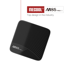 Mecool M8S pro L Android TV Box Amlogic S912 Octa Core 3GB 32GB 4K HD Android tv Set Top Box with Voice Remote Dual WiFi BT 4.0 m9s mix 4k tv box amlogic s912 octa core 64 bit android6 0 2g 16g jarvis 16 1 dual band wifi 2 4g 5gtop box 2 in 1 mx3 air mouse