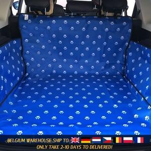 Image 3 - Caseta de CAWAYI Protector para asiento de coche para perros, alfombrilla para maletero, transporte para gatos y perros