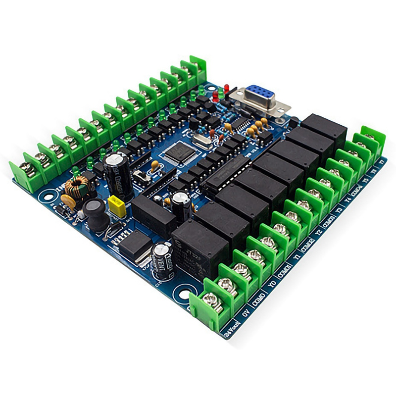 Industrial Programmable Control Board FX2N-20MT 12 Input 8 Output 24V 0.5A Control Board Module