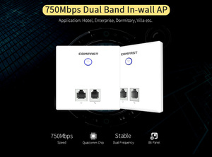 750Mbps Wireless WIFI Access Point 11AC Wifi Router WiFi Repeater 1*10/100Mbps WAN/LAN Port Indoor Wall Client+AP(China)