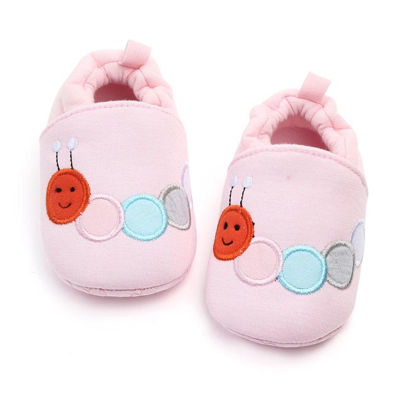 Зимние сапоги для маленьких девочек обувь новорожденного Зима Осень Теплые мягкие носки подошва плюшевые ботиночки - Цвет: A1