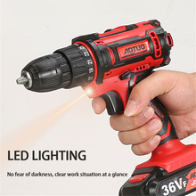 12/16.8V Screwdriver Electric Hand Drill Battery Rechargeable Electric Hammer Drill Electric Screwdriver Household Electric Tool