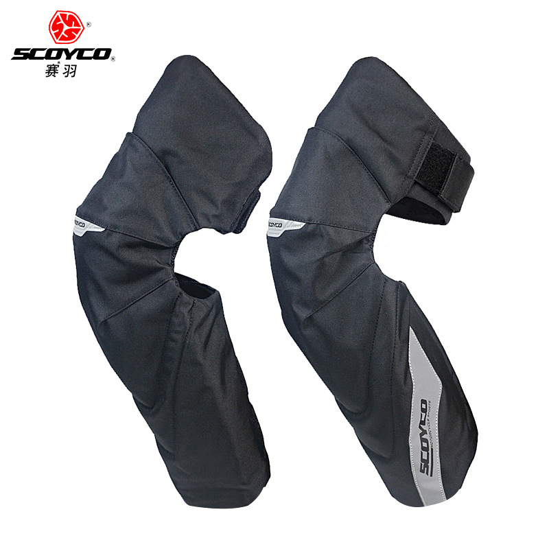 Scoyco Scoyco Motorcycle Warm Windproof Kneecap Shatter-resistant Autumn And Winter Riding Protective Clothing Locomotive Equipm