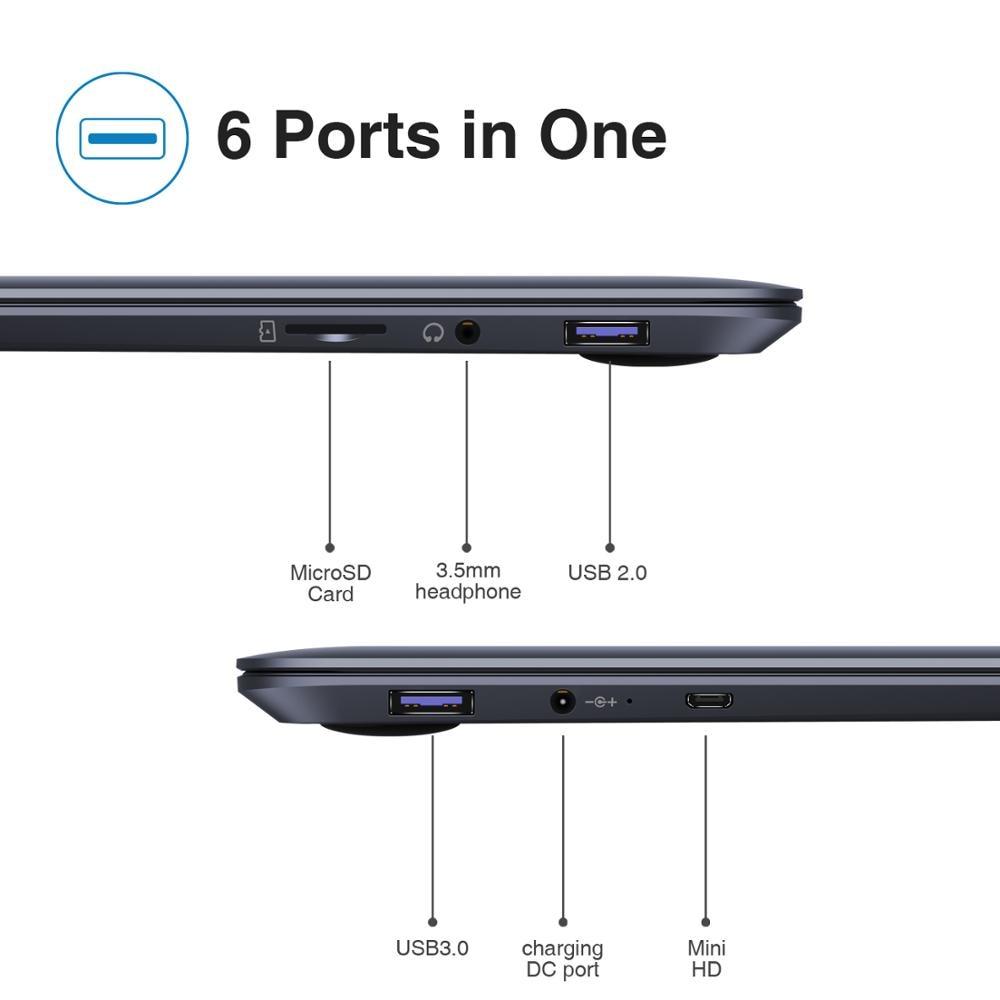 2020 NEW ARRIVAL CHUWI HeroBook Pro 14.1 inch 1920*1080 IPS Screen Intel N4000 Processor DDR4 8GB 256GB SSD Windows 10 Laptop 6