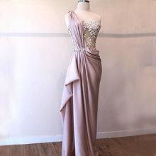 Соблазнительные вечерние платья русалки 2020 атласное Прозрачное