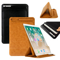 PU Leather Sleeve Bag Case For iPad Pro 12.9 inch 2017 A1670 A1671 A1821 Case With Pencil Holder Ultra Slim Protective Case