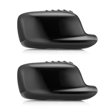 2pcs Car Left/Right Wing Mirror Rearview Cover For BMW 3 7 Series E46 E65 E66 330Ci 745i 750i 750Li 760i 760Li Alpina B7