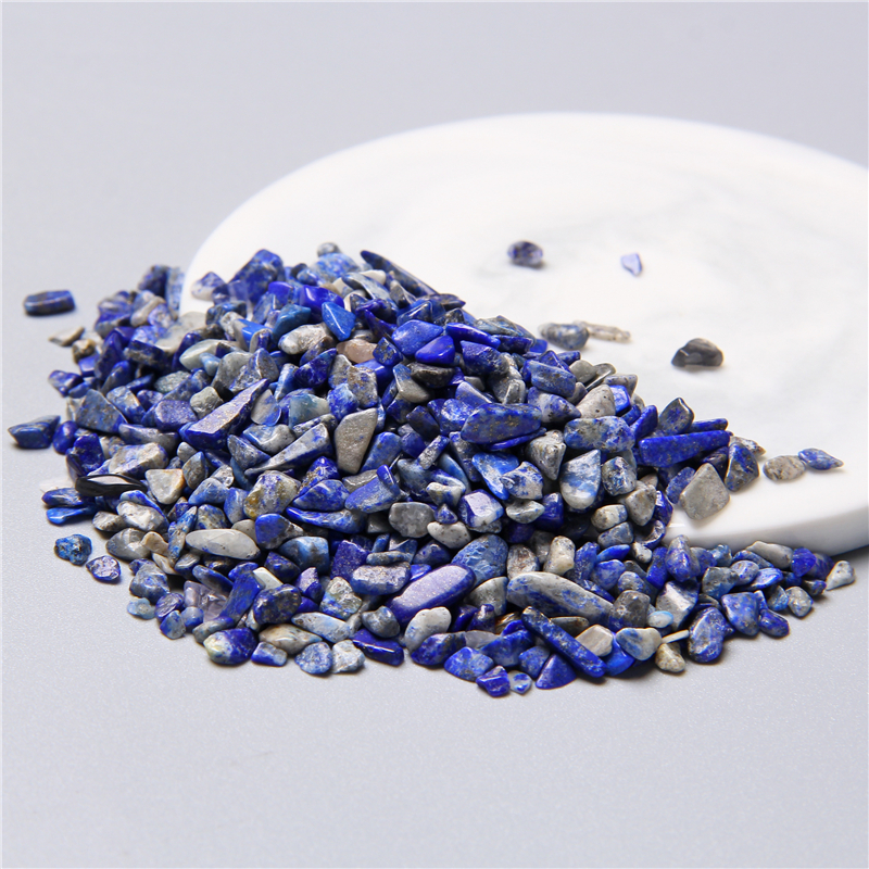 Blue Lapis Beads Lazuli-Stone Aquarium Jewelry Wholesale Home-Decoration Natural 3-4mm