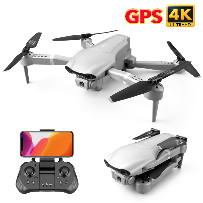 Permalink to 4DRC F3 drone GPS 4K 5G WiFi live video FPV quadrotor flight 25 minutes rc distance 500m drone HD wide-angle dual camera