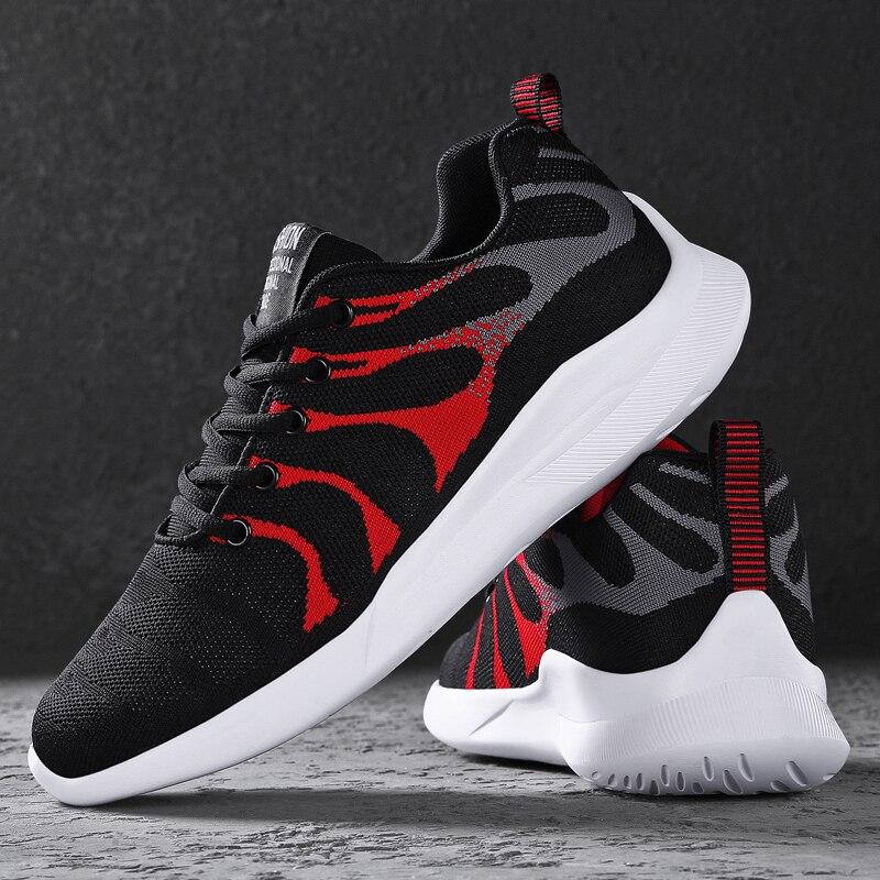Men's Sports Shoes Men's Shoes Men's Casual Shoes Hiking Shoes Canvas Shoes Non-slip Men's Breathable Mesh Lace-up Men's Shoes46