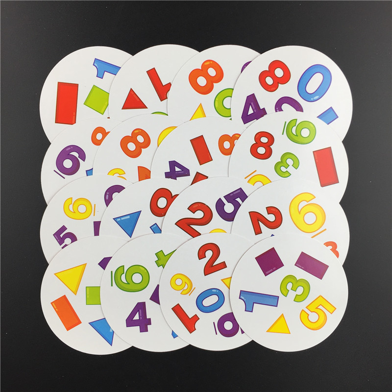 2020 HOT 83mm Spot Board Games Mini Style For Kids Like It Classic Education Card Dobble Game Version Home Party Funny Game