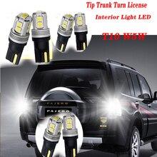 цена на 2pcs Highlight Car Trunk Turn T10 LED Light For Hyundai Solaris Tucson 2016 I30 IX35 I20 Accent Santa Fe Citroen C4 C5 C3 C2