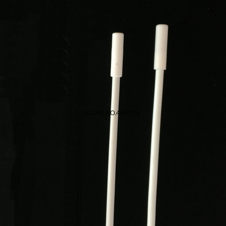 1PCS PTFE 300/350mm Stirrer Retriever, Teflon Stir Recycling Rods Stainless Steel Core, Magnetic Stirr Bars Remover