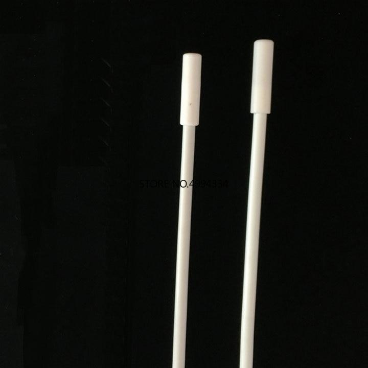 1PCS PTFE 300/350mm Stirrer Retriever, Teflon Stir Recycling Rods Stainless Steel Core, Magnetic Stirr Bars Remover