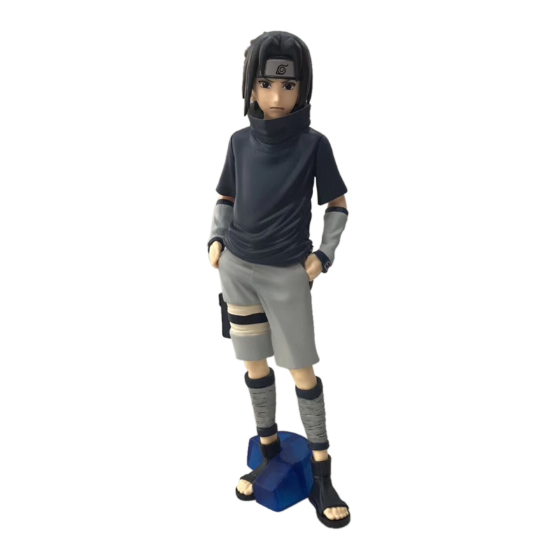 Anime Naruto Uchiha Sasuke PVC Action Figure Doll Collectible Model Baby Toy Christmas Gift For Children 35 Cm