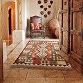 Точечное килим розовые ковры дорожка ковер комната напольное украшение винтажный модерн геометрический шерстяной ковер