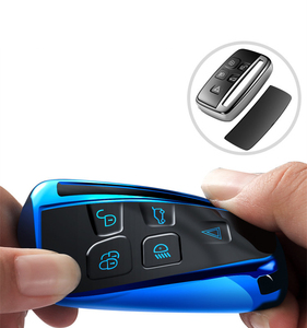 Image 2 - Hight quality TPU key case cover protective shell for Land Rover FREELANDER DISCOVERY RANGE ROVER Range Rover Evoque Jaguar