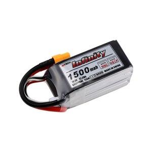 Image 5 - Infinity 4S 14,8 в 1500 мАч 95C 1300 мАч 85C графеновая литий полимерная аккумуляторная батарея SY60 Plug Connector Support 15C Boost Charger