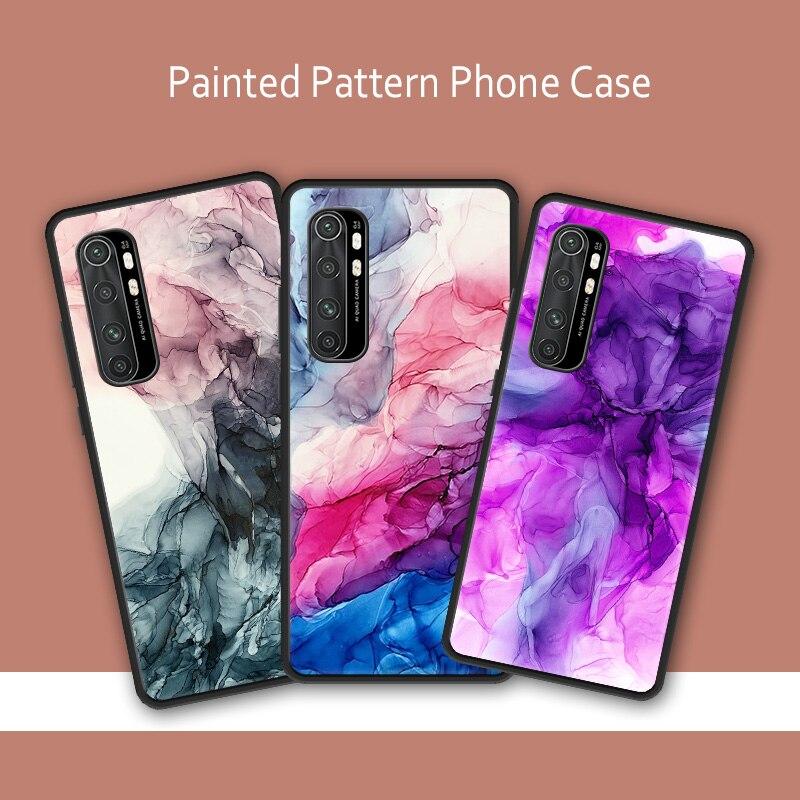 Back Cover Black TPU Shell Soft Silicone Cartoon Pattern Case for Xiaomi Mi 10 Note 10 Pro Case Coque Xiomi Mi 9 Lite 8 SE 6 CC9|Fitted Cases| - AliExpress