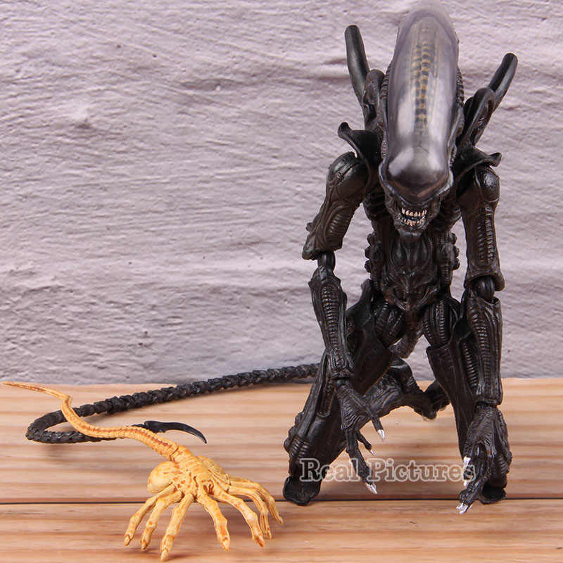 Alien Vs Predator AVP FIGMA SP-108 Action Figure Alien Takayuki Takeya Ver. PVC Collectible Model Toy Hadiah