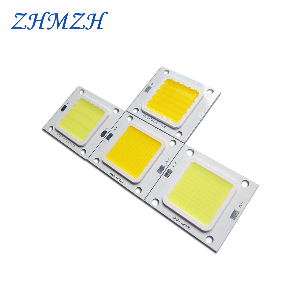 2pcs/lot 20W 30W 50W 70W LED Chip DC30-36V Super Brightness SMD Chips 900mA 1500mA 2100mA LED COB Beads For Outdoor FloodLight
