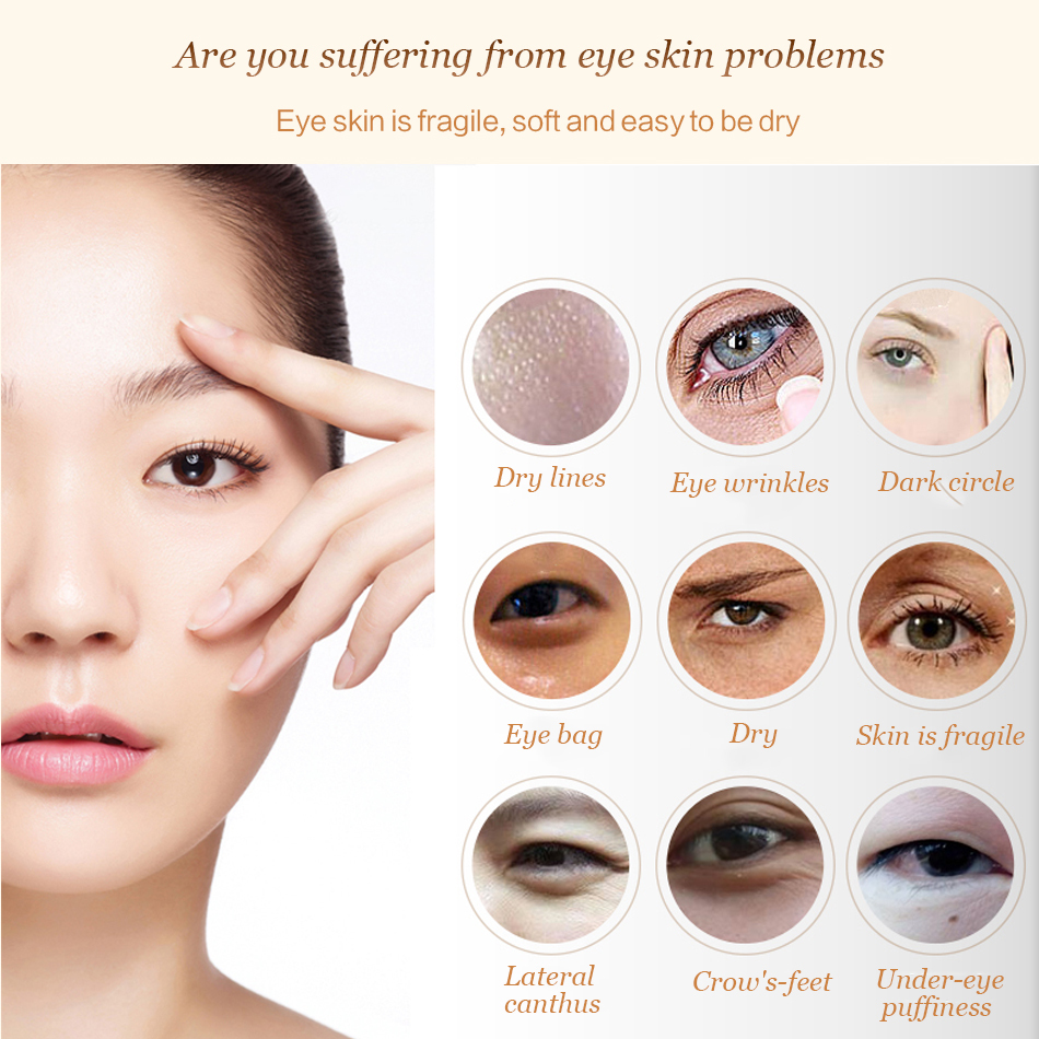 Efero Anti Wrinkle Eye Cream Against Blue Light Remove Dark