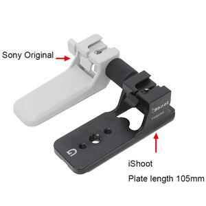 Image 3 - Ishoot Ống Kính Hỗ Trợ Viền Cho Sony FE 200 600 F5.6 6.3 G OSS Tripod Mount Ring Thay Thế Đế Chân Đứng