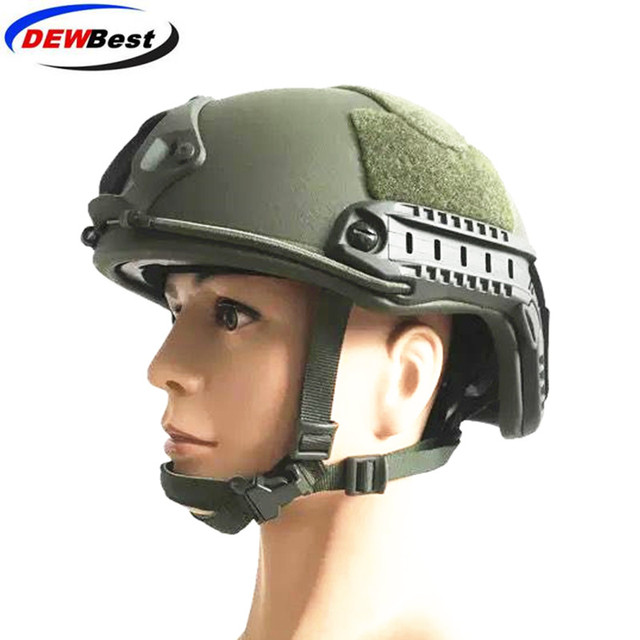 ACh high cut tactical bulletproof helmet bulletproof armor aramid core helmet NIJ IIIA 3A