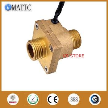 Free Shipping VC4050-G1-2 Brass Heater Turbine Sensor Customized Switch Flowmeter Water Flow Switch
