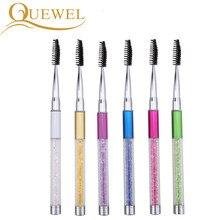 Eyelash Extension Crystal Brush Eyelashes Makeup Brushes Eye Eyebow Lash Beauty