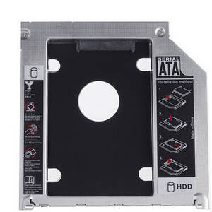 Sata-Machinery Hard-Disk Cd-Driver To Aluminum Solid Apple Rack