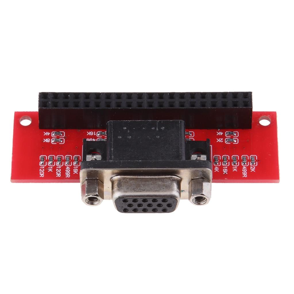 VGA666 Module Gert-VGA Passive Adapter Board For Raspberry Pi 3 / 2 /model B
