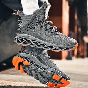 Image 3 - Klasik spor ayakkabı erkekler için yüksek kaliteli moda stil erkek rahat ayakkabılar rahat örgü açık yürüyüş koşu ayakkabıları Tenis Masculino