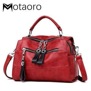 Image 1 - Fashion Leather Handbags Women Bags Designer Shoulder Crossbody Handbag Women Large Capacity Tote Messenger Bag Bolsa Sac A Main