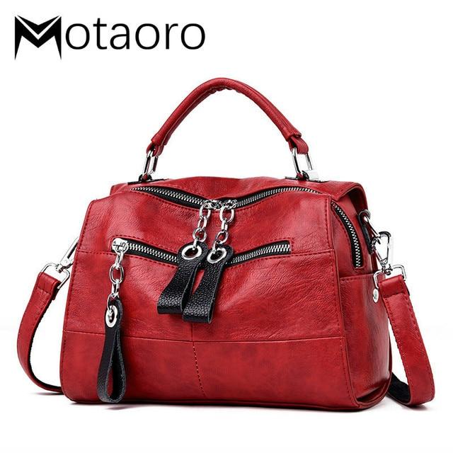 Fashion Leather Handbags Women Bags Designer Shoulder Crossbody Handbag Women Large Capacity Tote Messenger Bag Bolsa Sac A Main