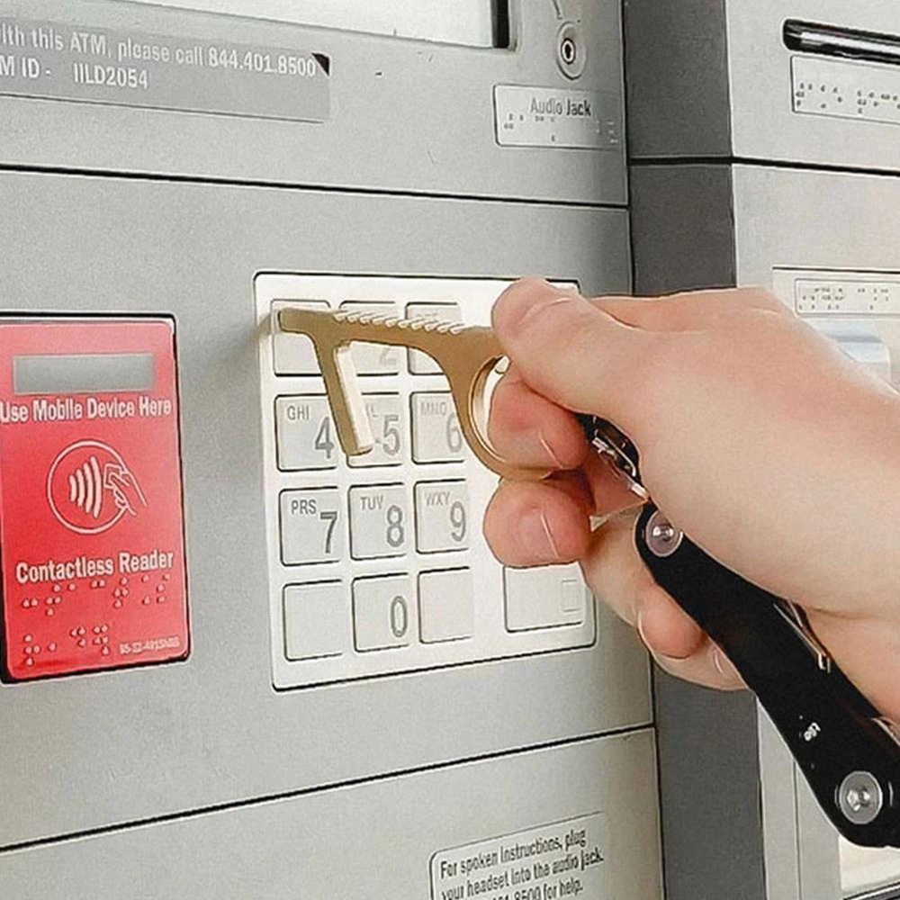 Keyring Door Opener - Cash Machine / Elevator Tool