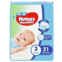 Подгузники Huggies Ultra Comfort для мальчиков 3(5-9 кг) 21 шт
